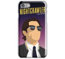 Nightcrawler film poster iPhone Case/Skin