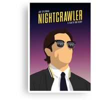 Nightcrawler film poster Canvas Print