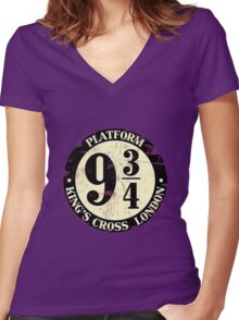 platform Women's Fitted V-Neck T-Shirt