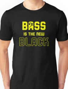 Bass is the New Black Unisex T-Shirt
