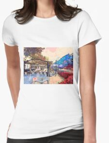 Granada Spain Womens Fitted T-Shirt