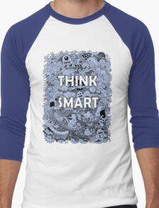 think smart  Men's Baseball ¾ T-Shirt
