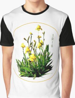 Flower Series  - Iris with transparent background Graphic T-Shirt