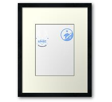 UNSC Spartan Blue Team Framed Print