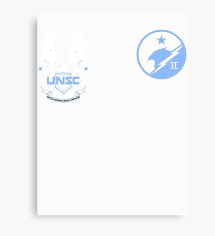 UNSC Spartan Blue Team Canvas Print