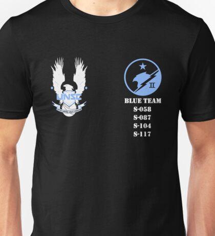 UNSC Spartan Blue Team Unisex T-Shirt