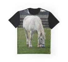Equus Ferus Caballus - White Horse | Northville, New York Graphic T-Shirt