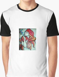 SMOKY HOT SQUID GIRL Graphic T-Shirt