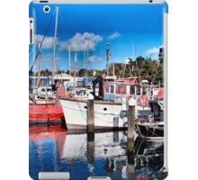 Boats at Geelong - Victoria Australia iPad Case/Skin