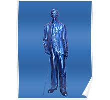 Tallest Man Robert Pershing Wadlow Poster