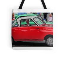 Not overcompensating Tote Bag