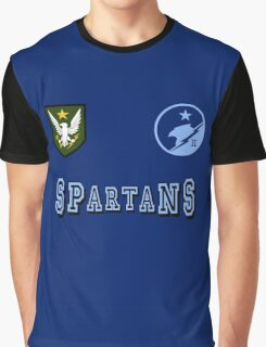Blue Team Spartans Graphic T-Shirt