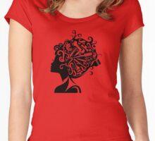 Cosmopolitan Queen Women's Fitted Scoop T-Shirt
