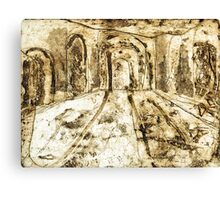 Collage - Arches Canvas Print