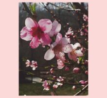 Peach Blossoms One Piece - Long Sleeve