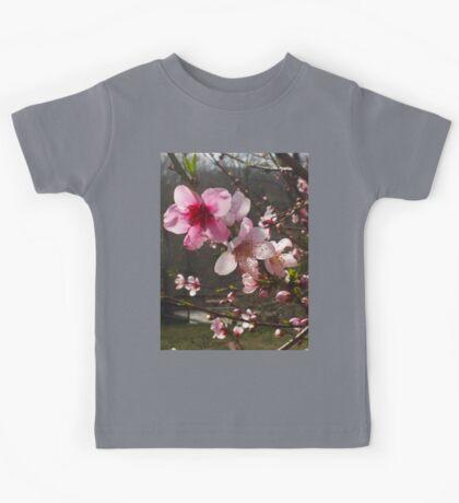 Peach Blossoms Kids Tee