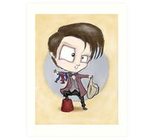 Eleventh Doctor - Hashtag Cool Art Print