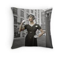 Anna Karenina in Colour Throw Pillow