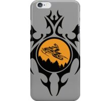 Gnarly Snowmobiling  iPhone Case/Skin