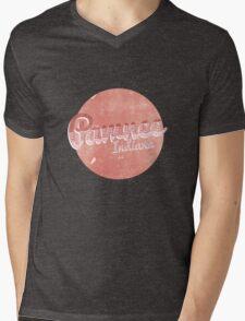 PAWNEE INDIANA Mens V-Neck T-Shirt