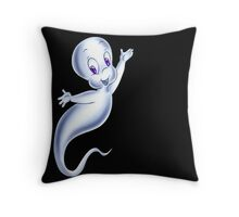 casper  ghost good Throw Pillow