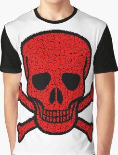 Tiles Skull Graphic T-Shirt