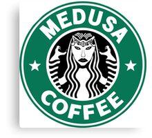 Medusa Coffee - Starbucks Parody, SMITE! Canvas Print