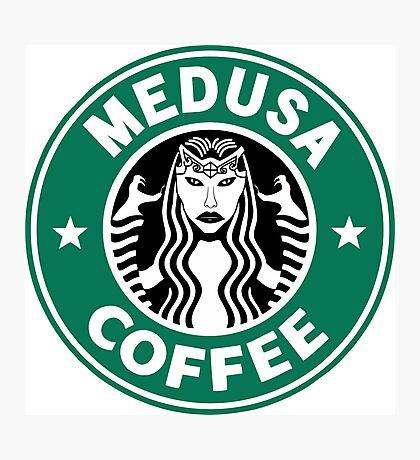 Medusa Coffee - Starbucks Parody, SMITE! Photographic Print