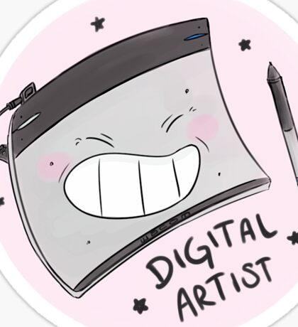 Digital Artist Love Sticker