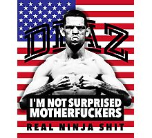 Nate Diaz UFC Photographic Print