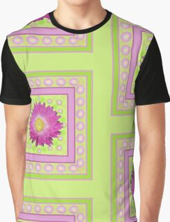 Daisy - Pink and Yellow Graphic T-Shirt