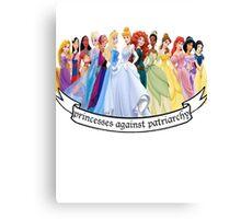 Princesses Against Patriarchy Canvas Print