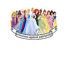 Princesses Against Patriarchy Photographic Print