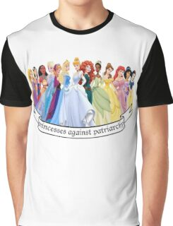 Princesses Against Patriarchy Graphic T-Shirt