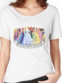 Princesses Against Patriarchy Women's Relaxed Fit T-Shirt