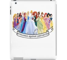Princesses Against Patriarchy iPad Case/Skin