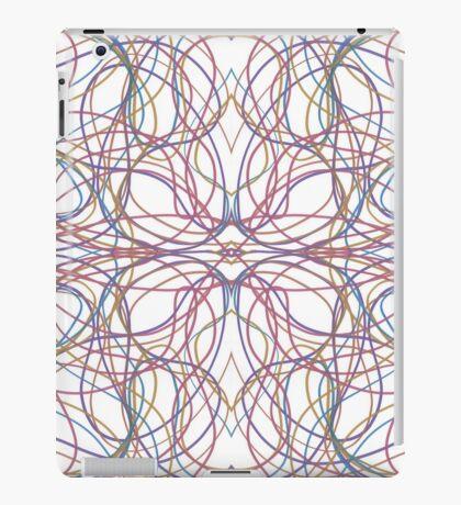 Lines don't lie iPad Case/Skin