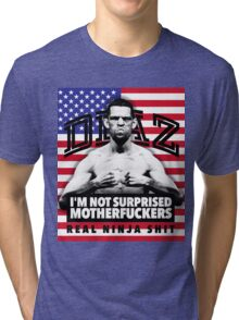 Nate Diaz UFC Tri-blend T-Shirt