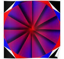 Endless Pinwheel Poster
