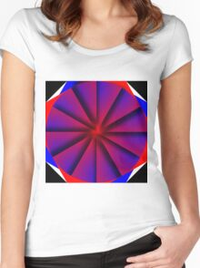 Endless Pinwheel Women's Fitted Scoop T-Shirt