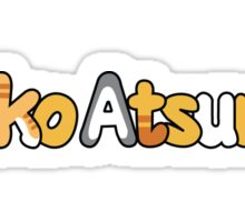 Neko Atsume Logo Sticker