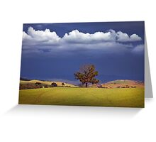 Wodonga Hills Greeting Card
