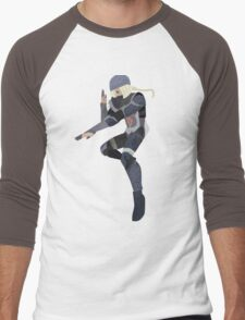 Sheik - Black - Smash 4 Men's Baseball ¾ T-Shirt