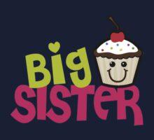Big sister cupcake Kids Tee