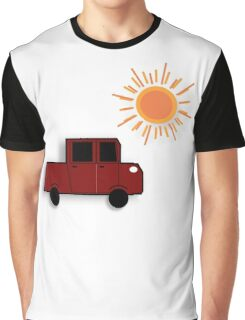 The Red Truck Graphic T-Shirt