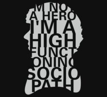 I'm Not a Hero. by qindesign