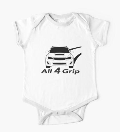 All 4 Grip - Subaru WRX STI Sticker / Tee for Enthusiasts One Piece - Short Sleeve