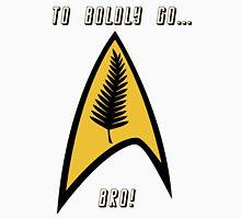 Kiwi Style Silver Fern Star Trek Delta. Unisex T-Shirt