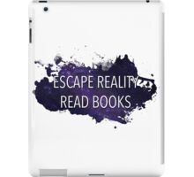 Escape Reality, Read Books (Stars) iPad Case/Skin