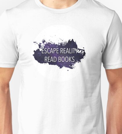 Escape Reality, Read Books (Stars) Unisex T-Shirt
